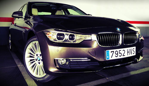 BMW Serie 3 (frontal)