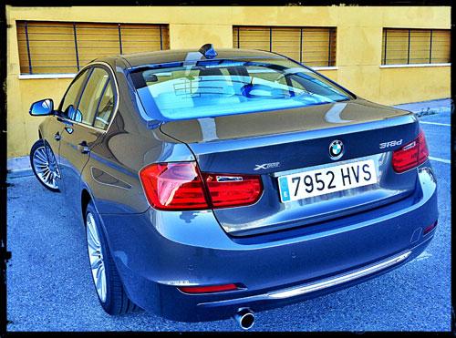 BMW Serie 3 (trasera)