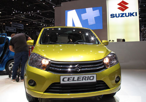 Suzuki Celerio (frontal)