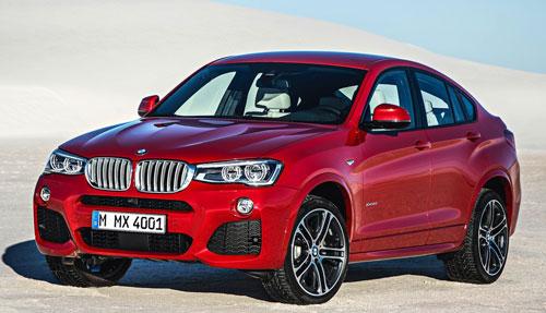 BMW X4 (frontal)