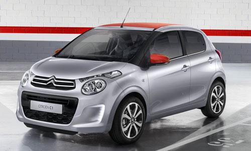 Citroën C1 (frontal)