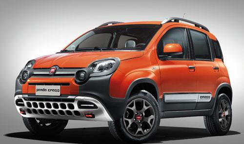 Fiat Panda Cross (frontal)