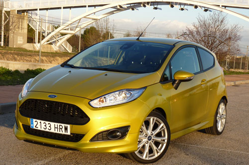 Ford Fiesta (frontal)