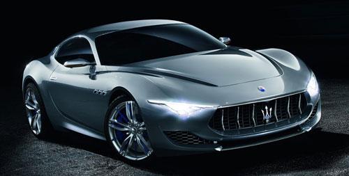 Maserati Alfieri Concept (frontal)