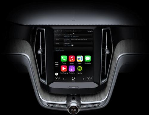 Volvo Apple CarPlay (1)