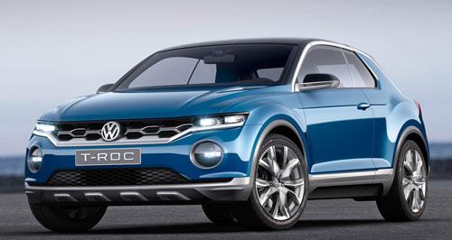 VW T-ROC (frontal)