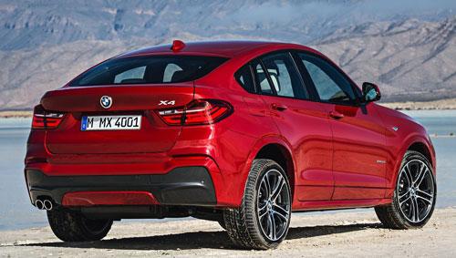 BMW X4 (trasera)