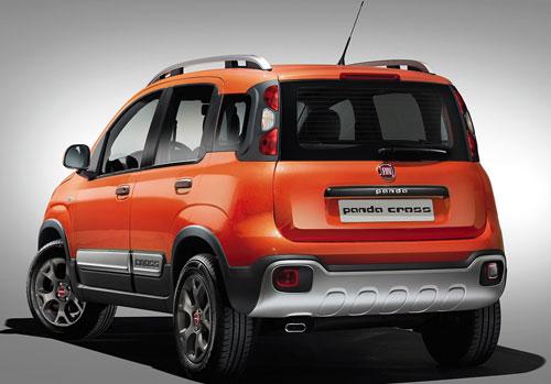 Fiat Panda Cross (trasera)
