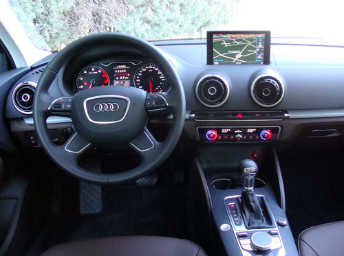 Audi a3 Sedan Blue Audi a3 Sed n Interior