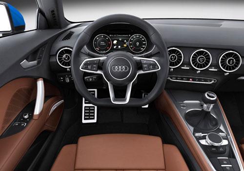 Audi TT (interior)