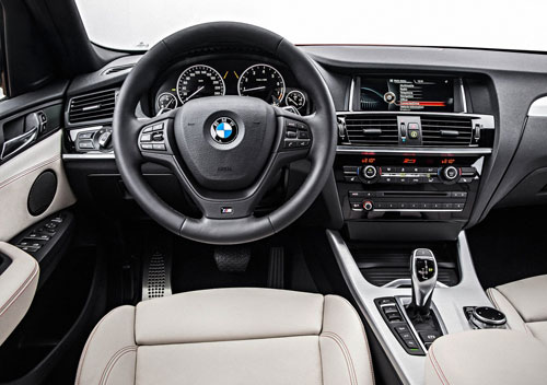BMW X4 (interior)