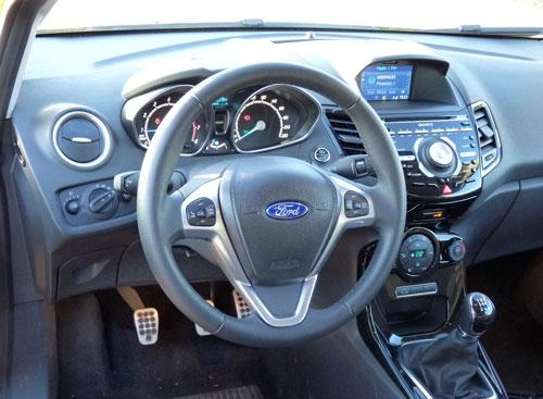 Ford Fiesta (interior)