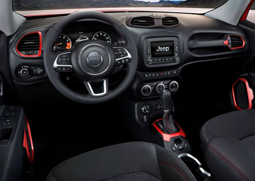 Jeep Renegade (interior)