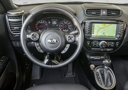 Kia Soul (interior)