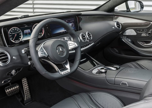 Mercedes-Benz S 63 AMG Coupé (interior)