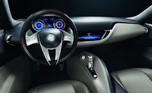 Maserati Alfieri Concept (interior)