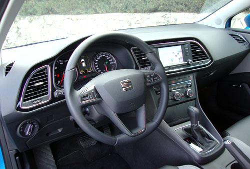 Seat León SC (interior)