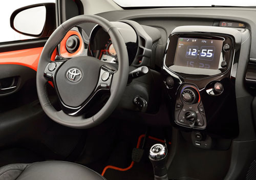 Toyota Aygo (interior)