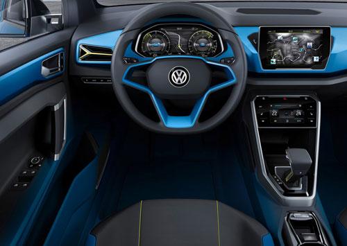 VW T-ROC (interior)