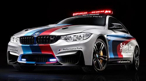 BMW M4 Coupé Safety Car MotoGP