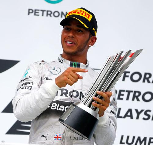 Lewis Hamilton - Fórmula 1 - GP Malasia