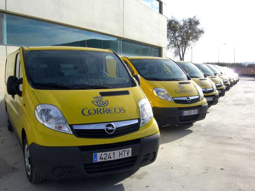 Opel y correos