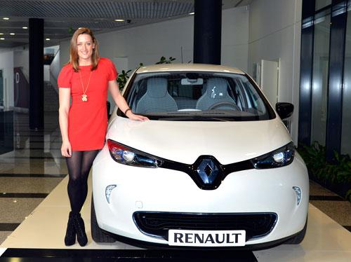 Renault y Mireia Belmonte