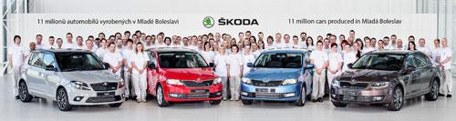 Producción de Skoda