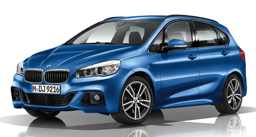 BMW Serie 2 Active Tourer M (frontal)