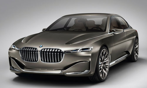 BMW Vision Future Luxury Concept (frontal)