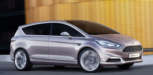 Ford S-Max Vignale Concept (frontal)