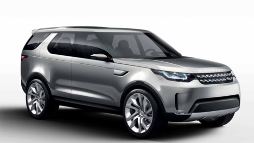 Las Rover Discovery (frontal)