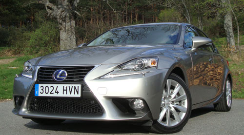 Lexus IS (frontal)