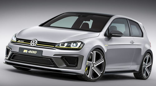 VW Golf R 400 Concept (frontal)