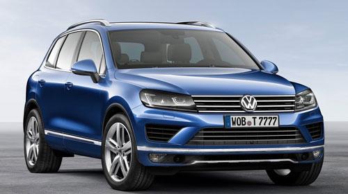 VW Touareg (frontal)