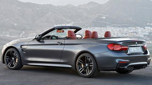 BMW M4 Cabrio (trasera)