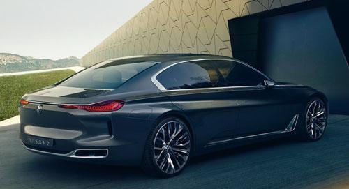 BMW Vision Future Luxury Concept (trasera)