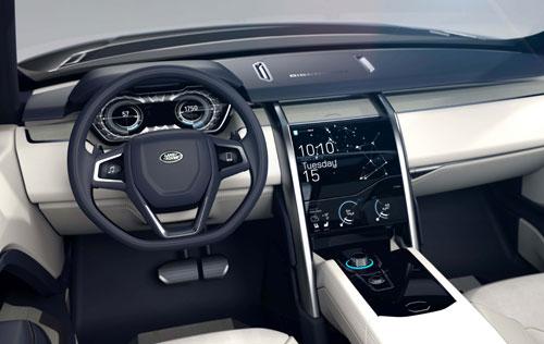 Las Rover Discovery (interior)