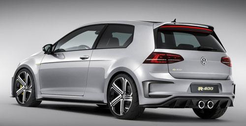 VW Golf R 400 Concept (trasera)