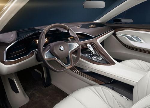 BMW Vision Future Luxury Concept (interior)