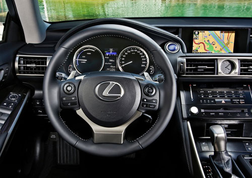 Lexus IS (interior)