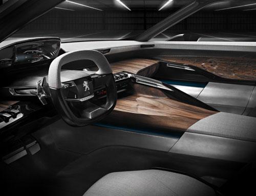 Peugeot Exalt (interior)