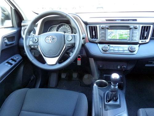 Toyota RAV4 (interior)
