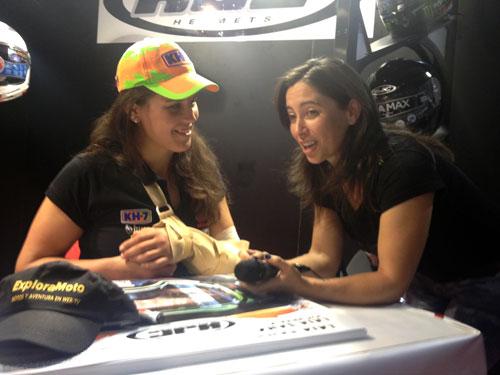 Alicia Sornosa con Laia Sanz