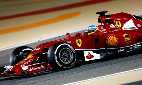 Fernando Alonso - GP Bahrein F1