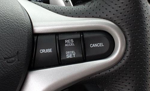 Control de velocidad de crucero