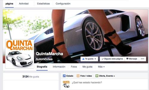 Facebook QuintaMarcha