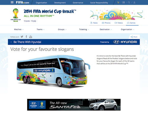 Fifa World Cup Hyundai