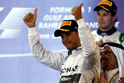 Lewis Hamilton - GP Bahrein F1