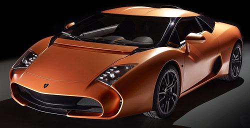 Lamborghini Zagato (frontal)